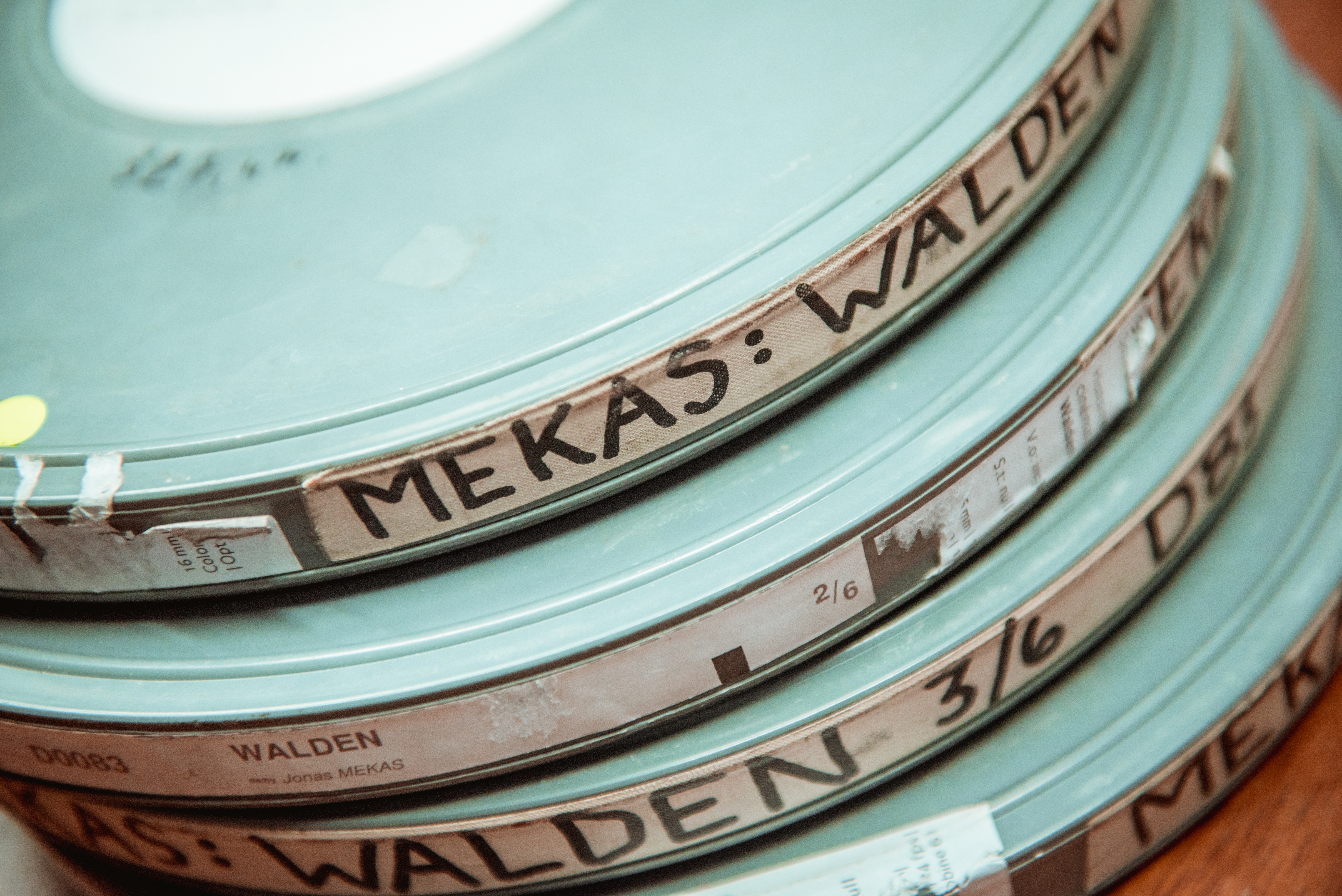 Conversa arredor do director 'underground' Jonas Mekas en Cineuropa